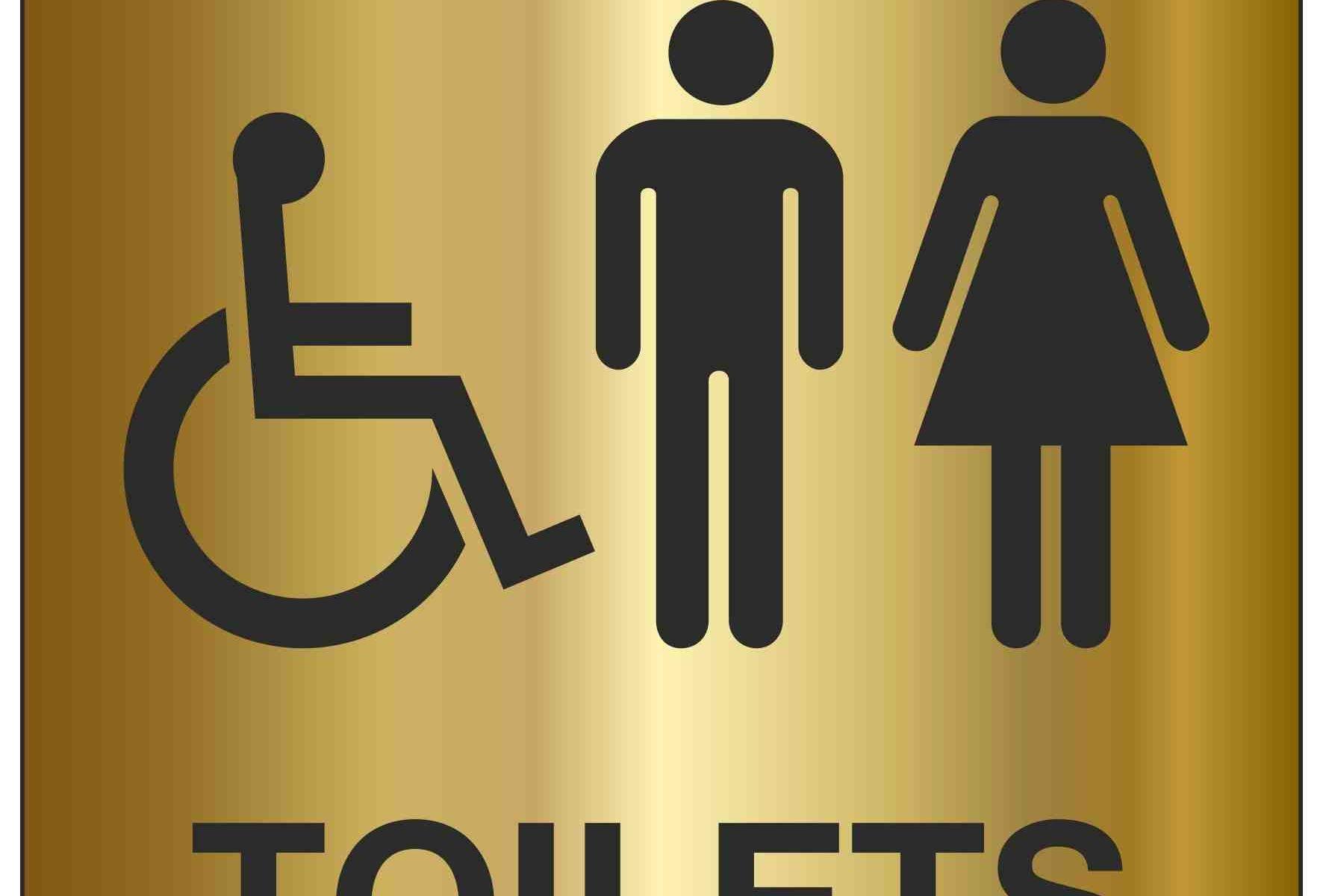 Ladies, Gents, Disabled TOILET