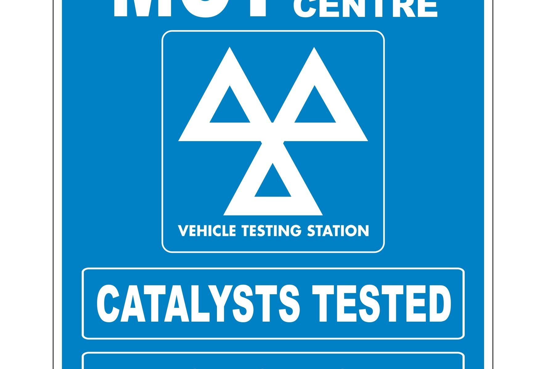 MOT TEST CENTRE CATALYSTS TESTED DIESELS TESTED