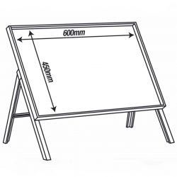 Metal Frame 600mm x 450mm