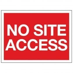 NO SITE ACCESS