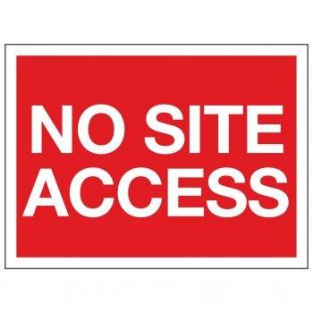 NO SITE ACCESS