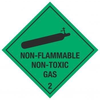 NON-FLAMMABLE NON-TOXIC GAS 2