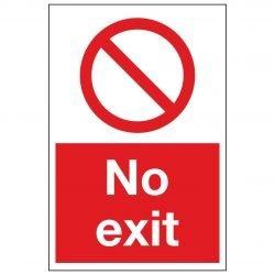 No Exit Portait