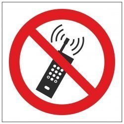 No Mobile Phones Symbol