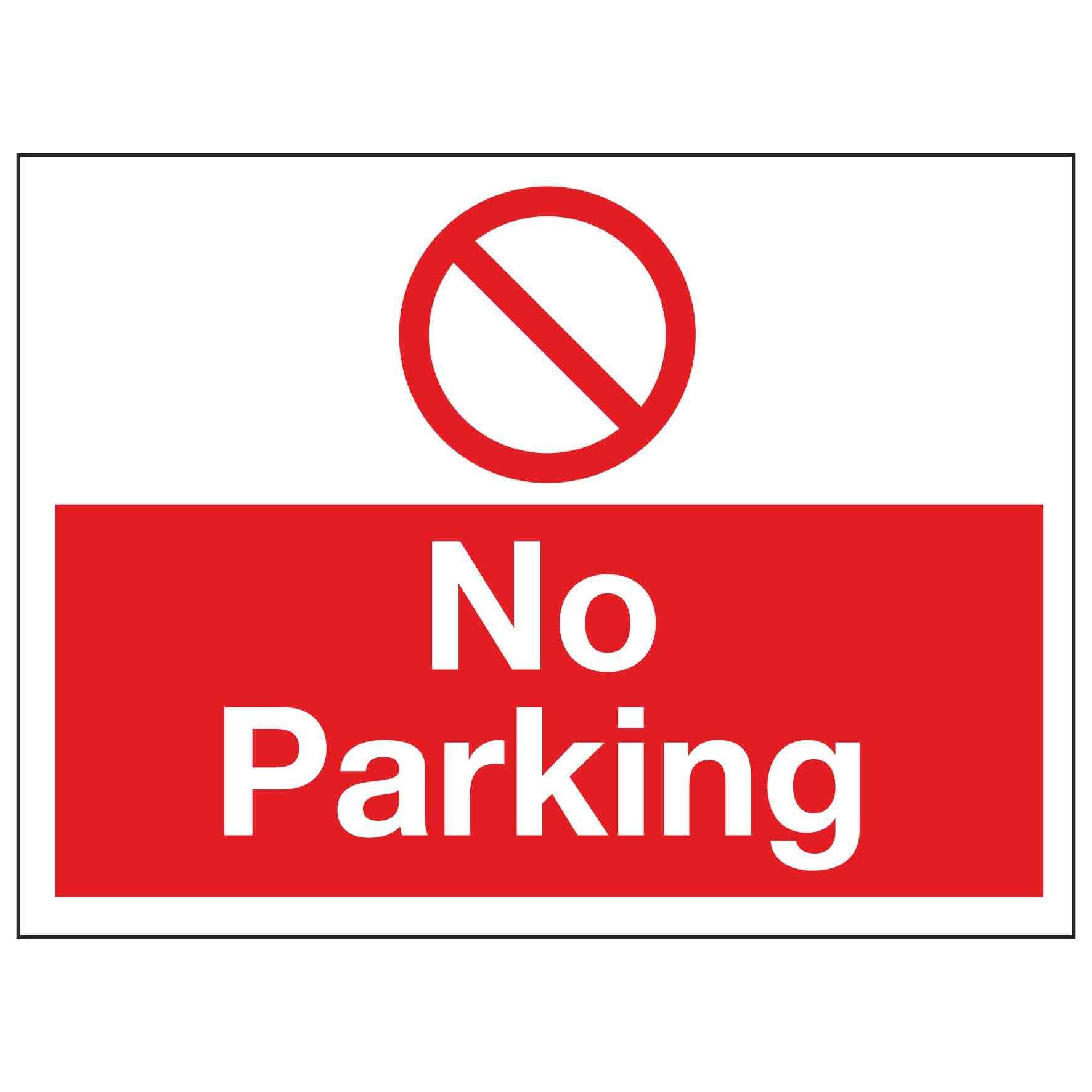 - No Parking – Linden Signs & Print