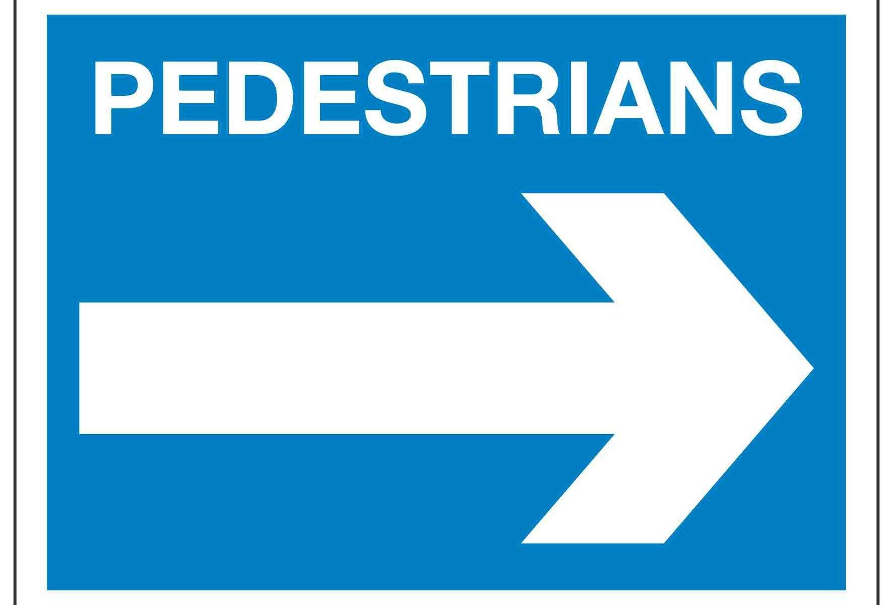PEDESTRIANS (Right arrow)