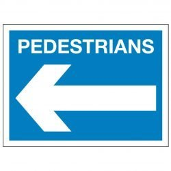 PEDESTRIANS(Left arrow)