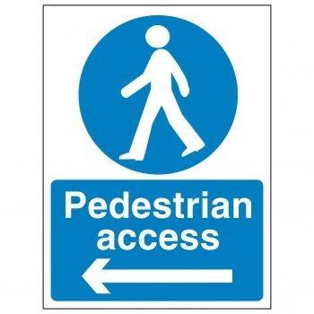 Pedestrian access (Arrow Left)
