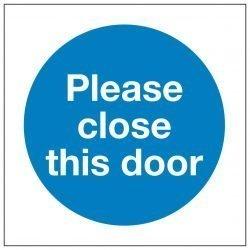 Please close the door