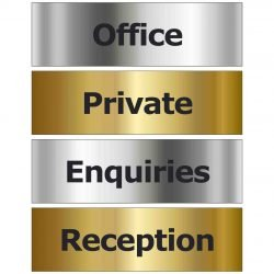 Prestige Door Signs