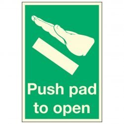Push pad to open PL
