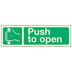 Push to open PL
