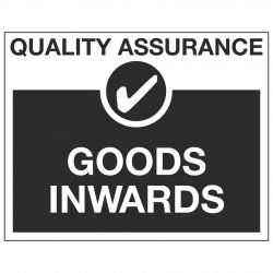 QUALITY ASSURANCE ✓ GOODS INWARDS