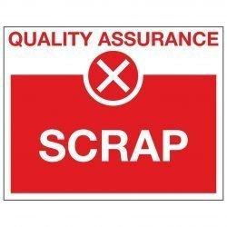 QUALITY ASSURANCE X SCRAP