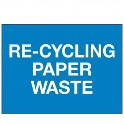 RE-CYCLING PAPER WASTE