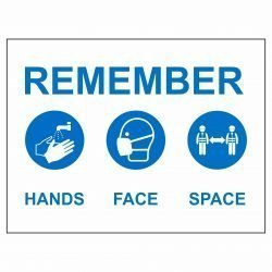 REMEMBER HANDS FACE SPACE