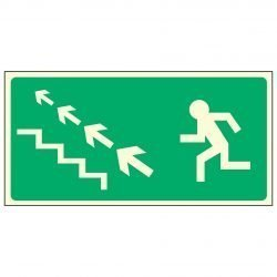 Running Man Left / Stairs Up Left Arrows - EEC 92/58