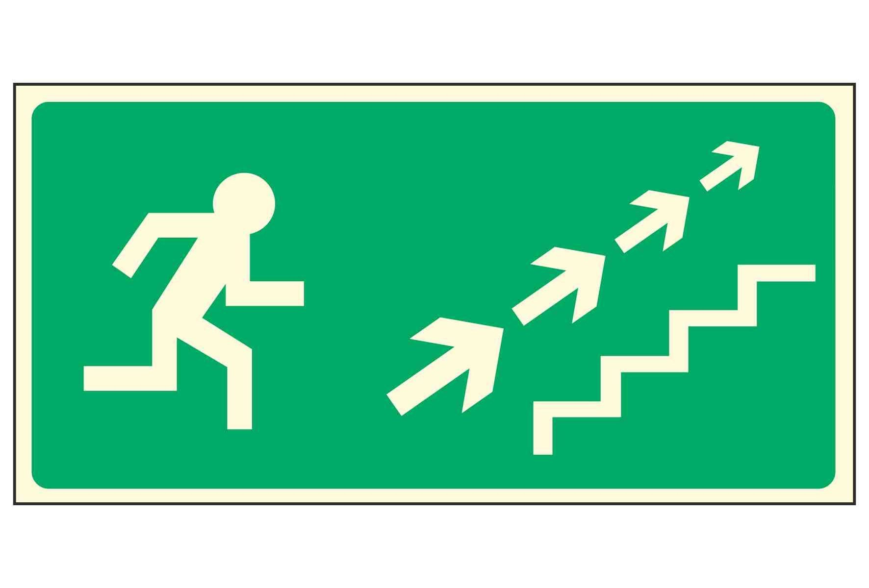 Running Man Right / Stairs Up Right Arrows - EEC 92/58