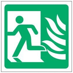 Running Man Left / NHS Symbol