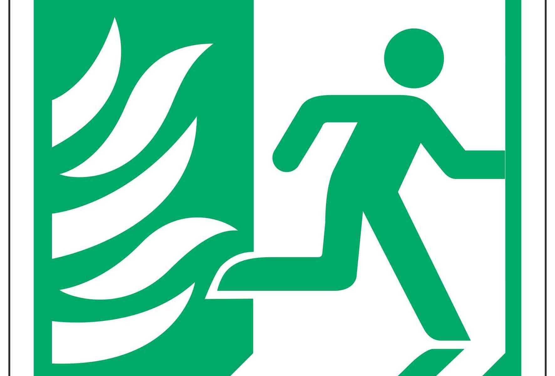 Running Man Right / NHS Symbol