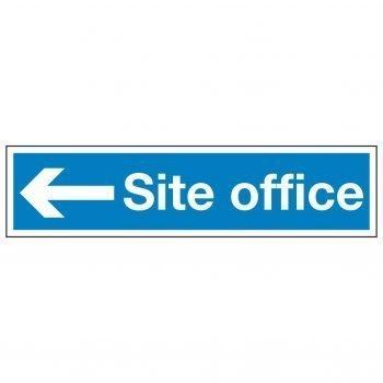 Site office (Arrow left)
