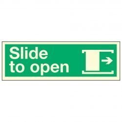 Slide to open / Arrow Right PL