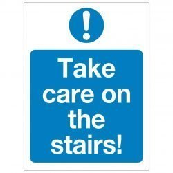 Take care on the stairs!
