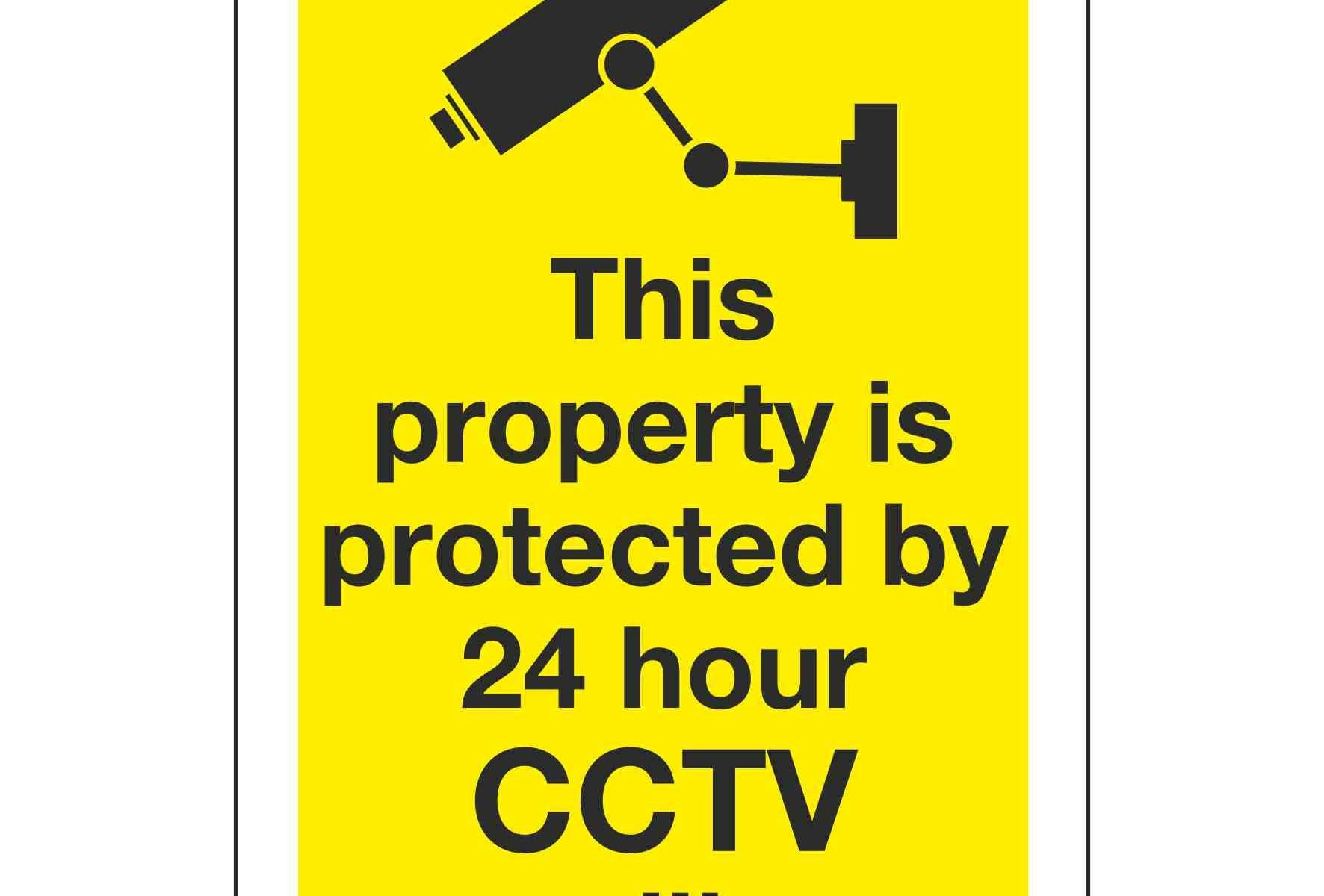 This property is protected by 24 hour CCTV surveillance