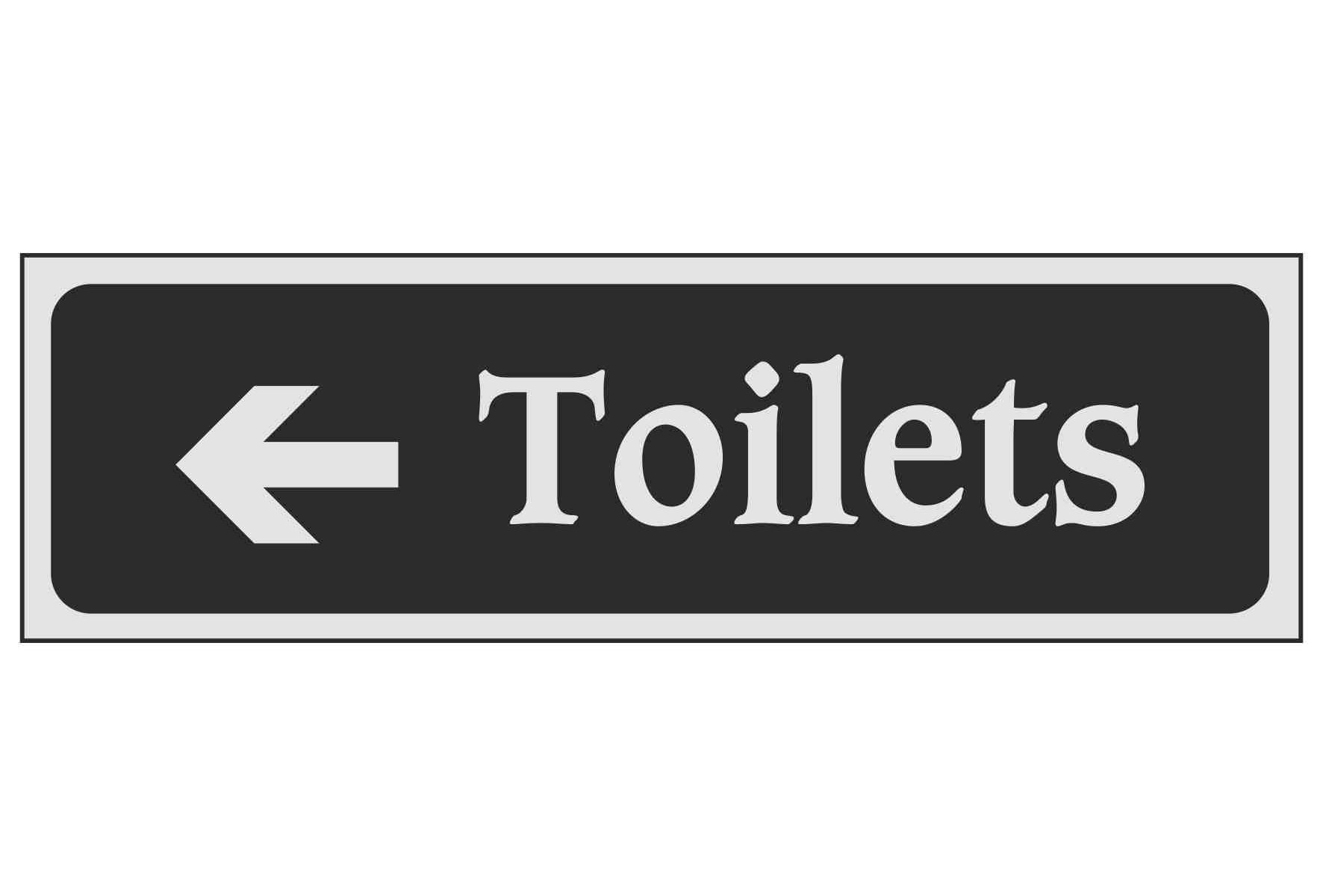 Toilets (Arrow left)