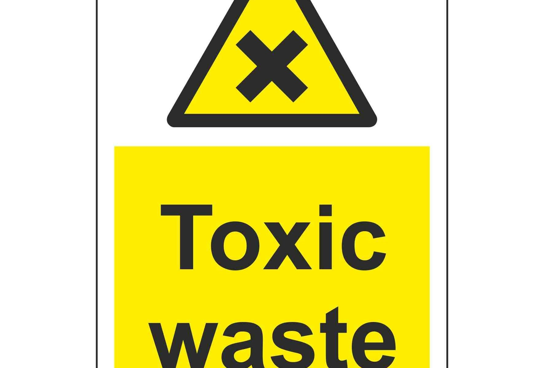 toxic waste sign - HD1772×1200