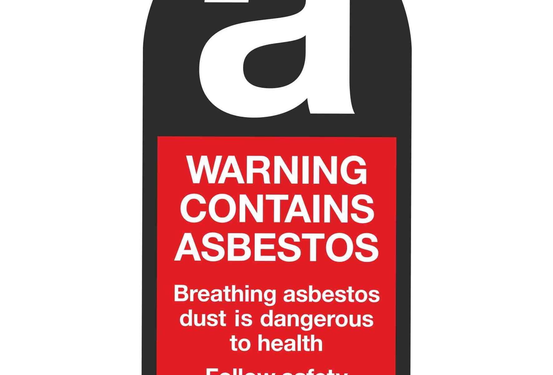 WARNING CONTAINS ASBESTOS Breathing asbestos dust is dangerous to health Follow safety instructions