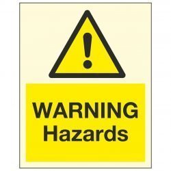 WARNING Hazards PL