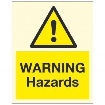 WARNING Hazards PL