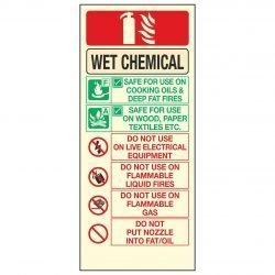 WET CHEMICAL FIRE EXTINGUISHER PL