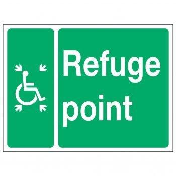 Wheelchair Symbol Refuge point