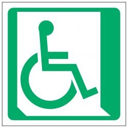 Wheelchair Symbol Right