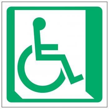 Wheelchair Symbol Right