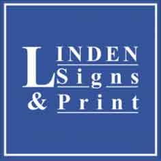 Linden Signs & Print Logo