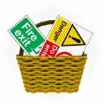 Sign Basket
